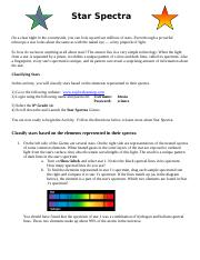 Star Spectra Web Activity.doc