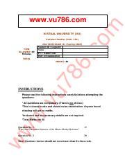 PAK301_Solved_MCQs_Mega_File-virtual study solutions- pdf