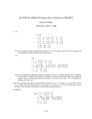 MATH122-200610-PS06-Solutions