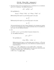 STA 248- Assignment 2- 2004-Solution