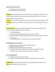 principles of selling ch 2 notes