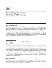 Case Study 9 Service 15 Minute Oil Change.pdf