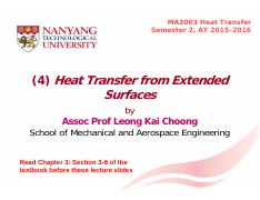 (4) Heat Transfer from Extended Surfaces S2 2015-2016.pdf