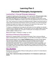 Learning Plan 5 Personal Philosophy SU17.pdf