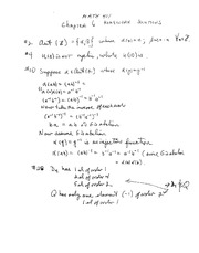 Math 411 Solutions to Chapter 6  Problems