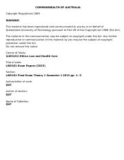 LWS101-QUT-LWS101_Exam_Papers-LWS101_Final_Exam_Theory_1_Semester_1_2015-pp1-3