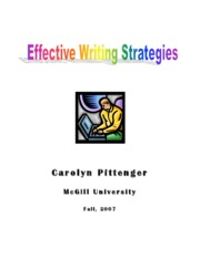 EFFECTIVE WRITING STRATEGIES
