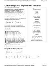 List_of_integrals_of_trigonometric