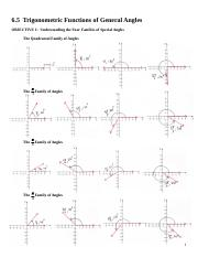 MATH 1023 Section 6.5 Notes