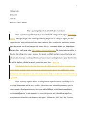 proposal argument essaydocx   kiana mccrea eng kari silver   pages proposal argument essay assignment editdocx