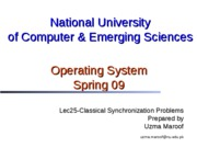 Lec30-Classical+Synchronization+Problems-RW