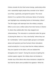 Essay on History of Genocide