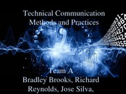 Technical Communication Methods and Practices