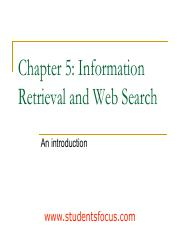 InformationRetrieval unit2