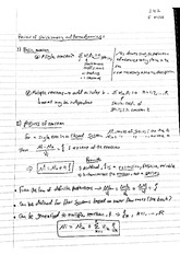 Review of Stoichiometry and Thermodynamics
