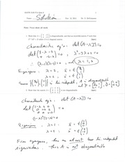 MATH 2120 Fall 2014 Quiz 8 Solutions