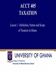 Lesson 2 Nature and Definition of Taxation.pdf
