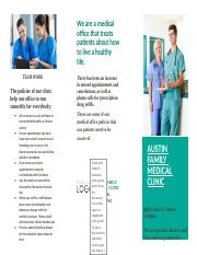 Austin Brochure- Mrs. Kelly- Medical Electronic records