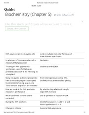 Biochemistry (Chapter 5) flashcards | Quizlet
