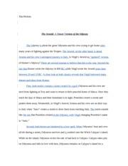 aeneid essays