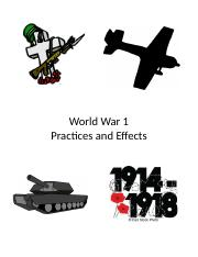Unit 2 WW1 Effects .docx