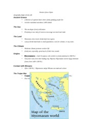 Ancient Greece Power Point Notes