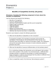 207a_Benefits_of_Competition_Activity