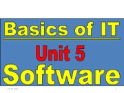 Basic of IT Unit5