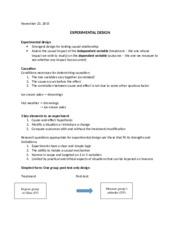 November 23 class notes