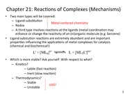 Mechanisms 1