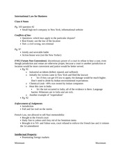 International Law for Business notes 5