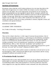 Sociology of Prostitution Research Paper Starter - eNotes.pdf