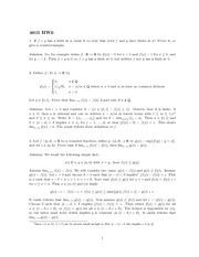 Homework 6 Solution Fall 2013 on Real Analysis