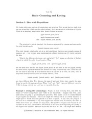 Basic counting and listing-lecture notes