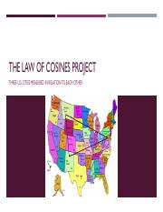 The Law of cosines project.pdf