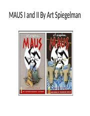 MAUS I and II By Art Spiegelman (1)