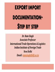 Export Import Documentation.pdf
