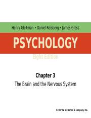 Chapter 3 - The brain and the nervous system.ppt