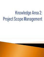 Lec 4 - Project Scope Mgmt (Dian)