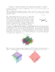Comparison of Cylindrical, Spherical and 3 dimensional Rectangular Coordinates