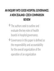 AN INQUIRY INTO GOOD HOSPITAL GOVERNANCE.pptx