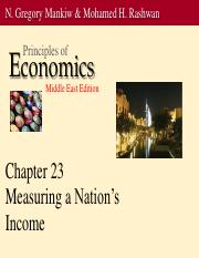 ch23ppt national income