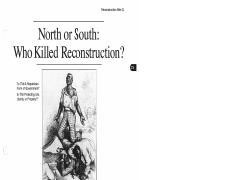 north south killed reconstruction dbq reconstruction mini q 11 pages reconstruction docs