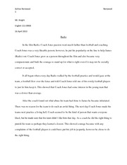 road rage essay example