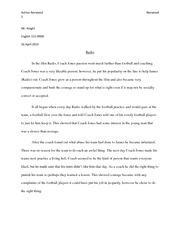 Road rage essay