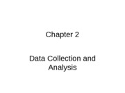 Chapter 2 - Data collection and analysis
