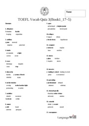the evaluation of toefl test Toefl (test of english as a foreign language): wwwetsorg  _____ 5 high  school and university diplomas and transcripts with foreign credit evaluation.
