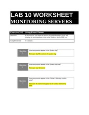 lab10 worksheet March 21: lab 9 deserts worksheet and lab manual activities any other missing /  make-up work as  lab 10 pre-lab coast video exercise (earth revealed.