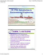 CE 3702 - Topic 7 - Solid Waste Management.pdf