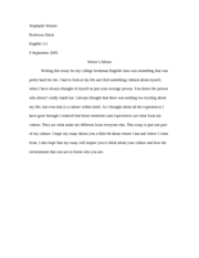 Essay on being adopted